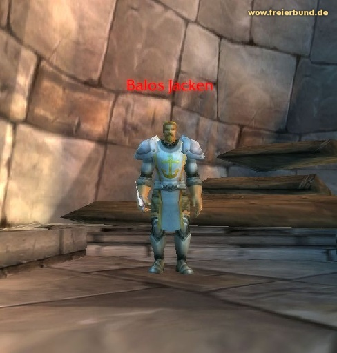 Balos Jacken (Balos Jacken) Quest NSC WoW World of Warcraft  1