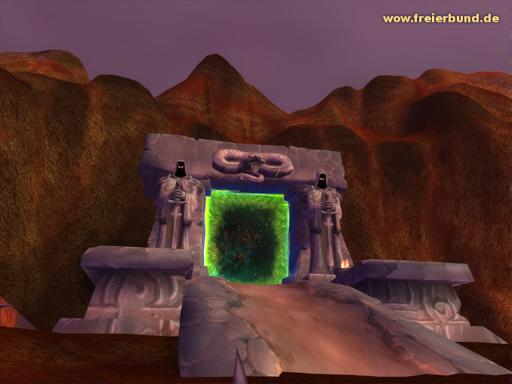 Das Dunkle Portal (Scherbenwelt) (The Dark Portal) Landmark WoW World of Warcraft  1