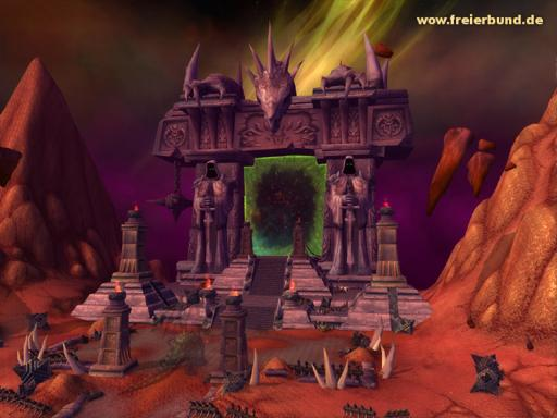 Das Dunkle Portal (Scherbenwelt) (The Dark Portal) Landmark WoW World of Warcraft  2