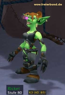 Ricket (Ricket) Quest NSC WoW World of Warcraft  1