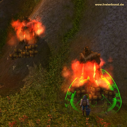 Feuerstelle (Fireplace) Quest-Gegenstand WoW World of Warcraft  1