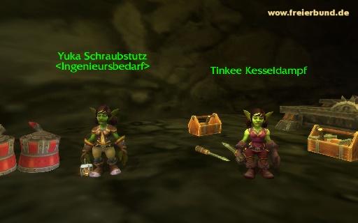 Tinkee Kesseldampf - Quest NSC - Map & Guide - Freier Bund - World ...