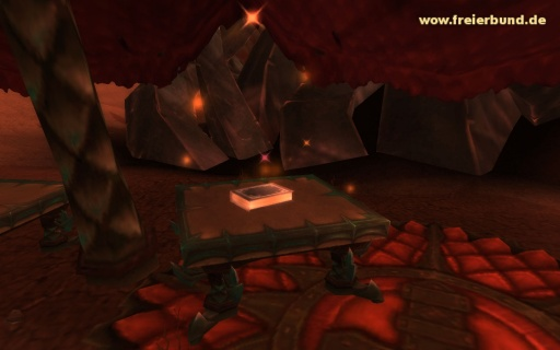 Kodex des Aszendenten (Ascendant's Codex) Quest-Gegenstand WoW World of Warcraft  1