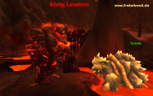 König Lavatron (King Moltron) Monster WoW World of Warcraft  1