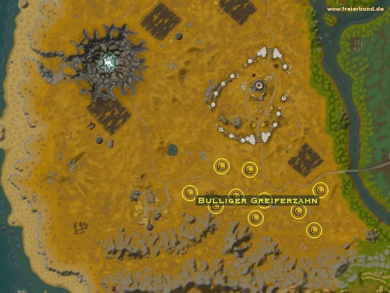 Bulliger greiferzahn monster map amp guide freier bund world of