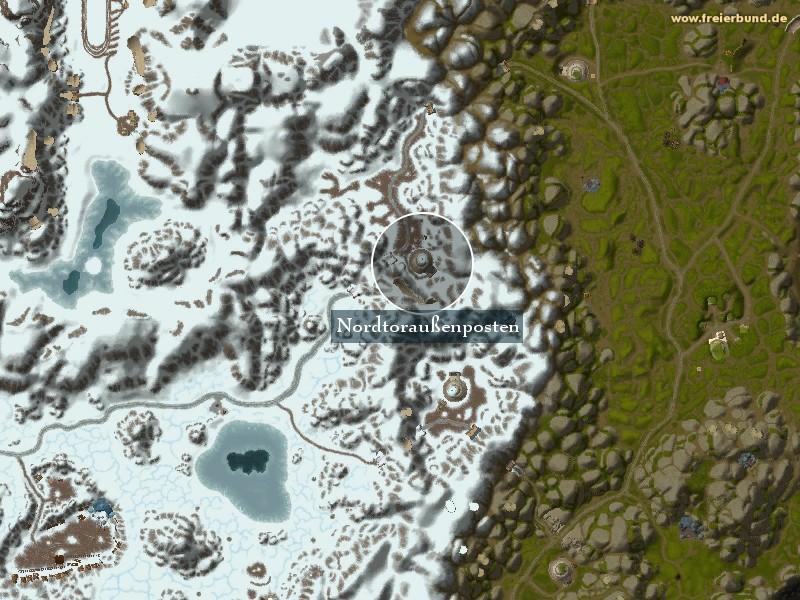 Nordtoraußenposten - Landmark - Map & Guide - Freier Bund - World on