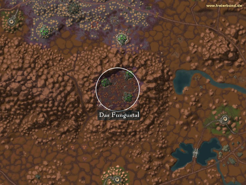 Das Fungustal (The Fungal Vale) Landmark WoW World of Warcraft