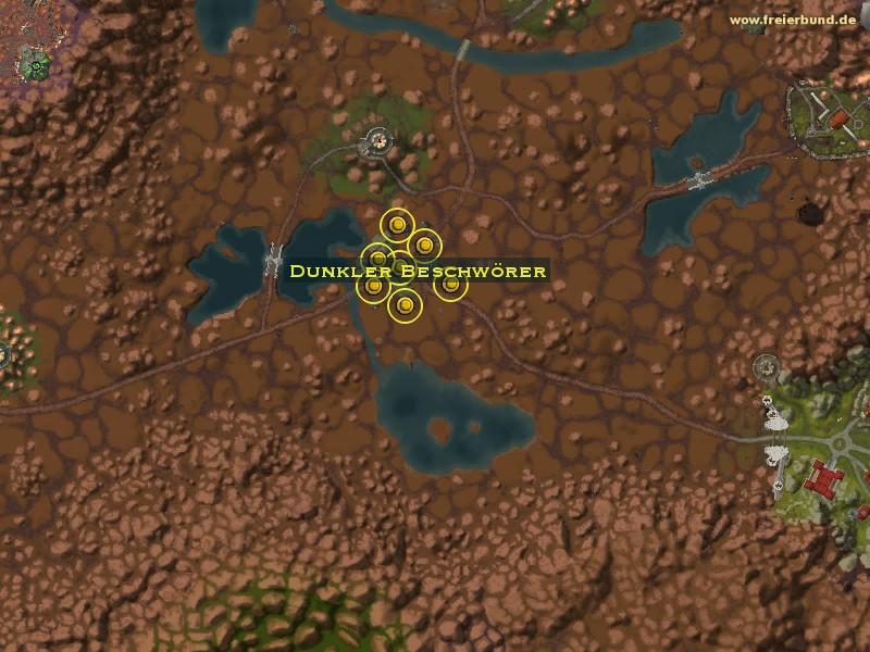 Dunkler Beschwörer - Monster - Map & Guide - Freier Bund