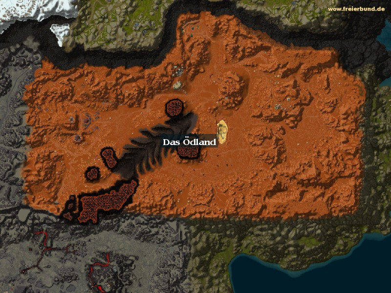 Das Ödland (Badlands) Zone WoW World of Warcraft