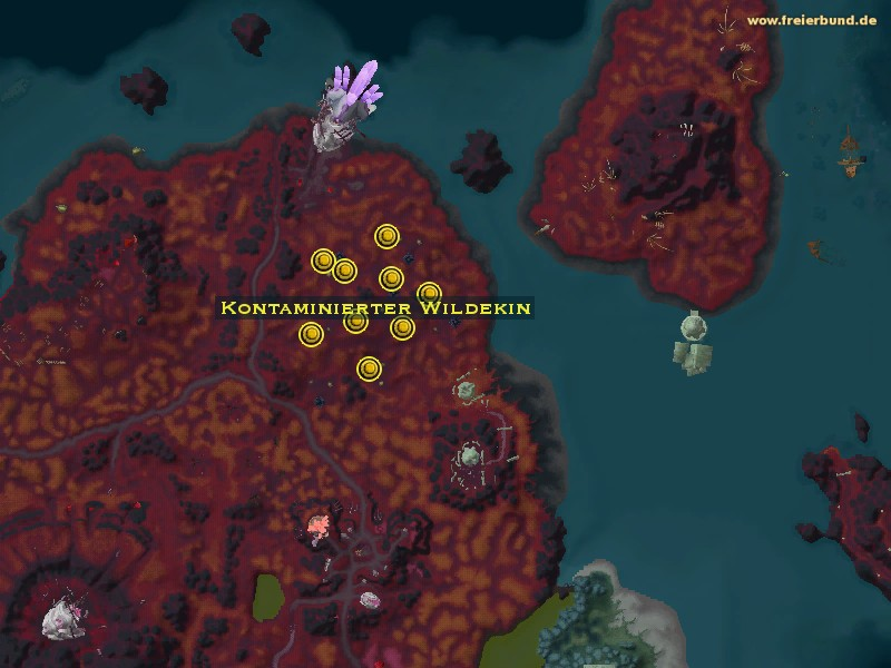 Kontaminierter Wildekin (Contaminated Wildkin) Monster WoW World of Warcraft