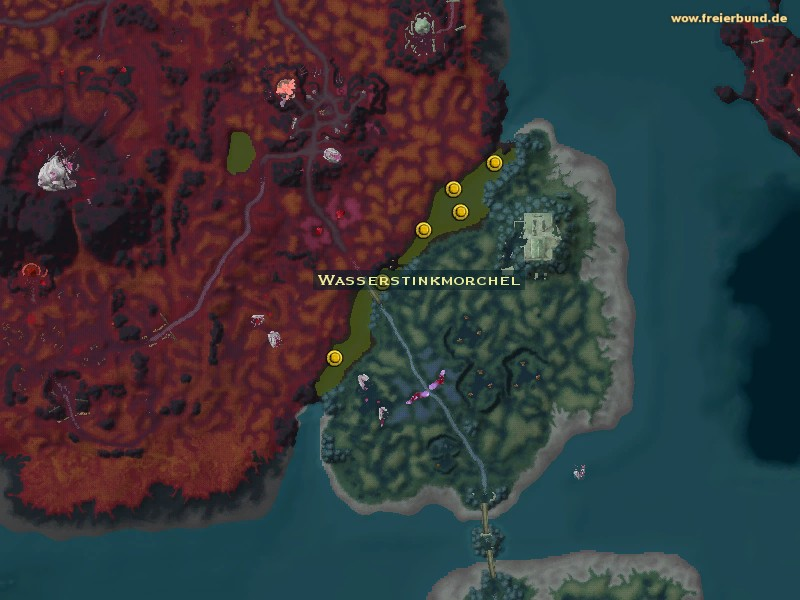 Wasserstinkmorchel (Aquatic Stinkhorn) Quest-Gegenstand WoW World of Warcraft