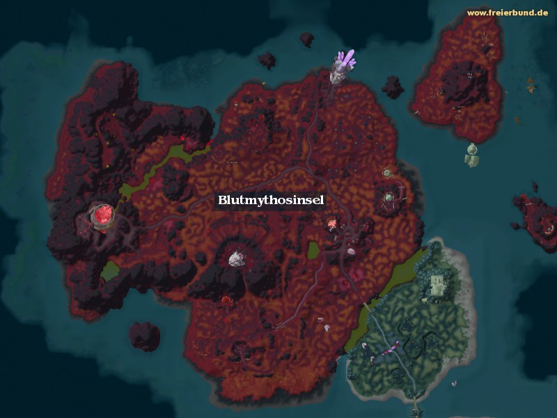 Blutmythosinsel (Bloodmyst Isle) Zone WoW World of Warcraft