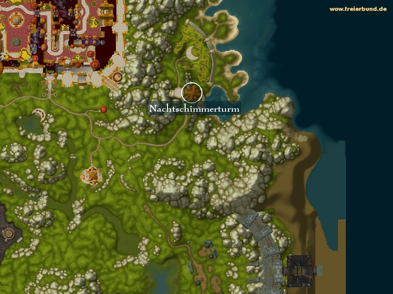 how to get to eversong woods from orgrimmar