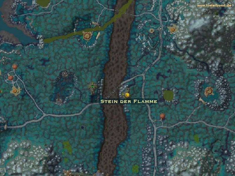 stein der flamme quest gegenstand map guide freier bund world of warcraft. Black Bedroom Furniture Sets. Home Design Ideas