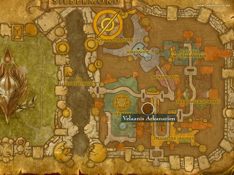 Velaanis Arkanarien (Verlaani's Arcane Goods) Landmark WoW World of Warcraft