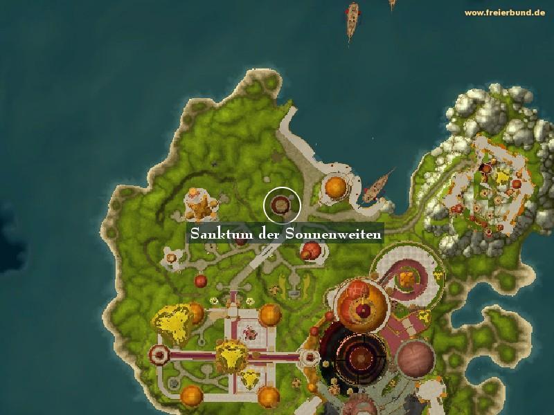 Karte wow leylinien Bael Modan