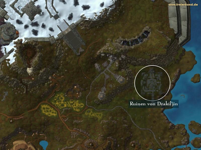 Ruinen Von Drakiljin Landmark Map Guide Freier Bund World