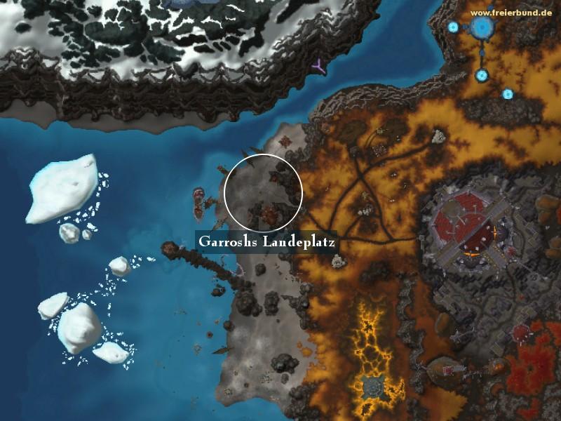 garroshs landeplatz landmark map guide freier bund world of warcraft. Black Bedroom Furniture Sets. Home Design Ideas