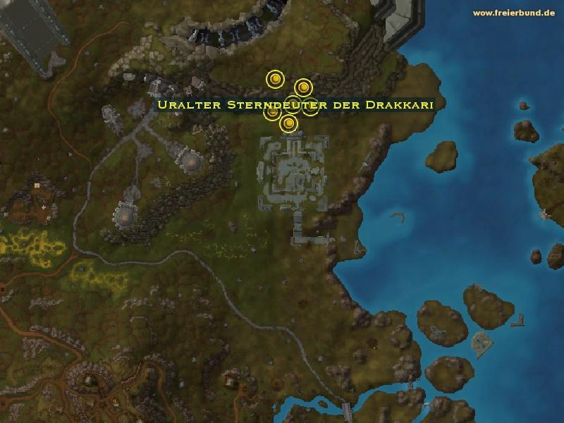 Uralter Sterndeuter Der Drakkari Monster Map Guide Freier