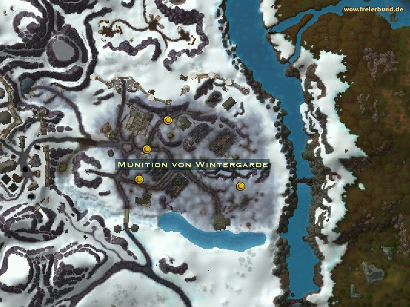 Munition von Wintergarde (Wintergarde Munitions) Quest-Gegenstand WoW World of Warcraft