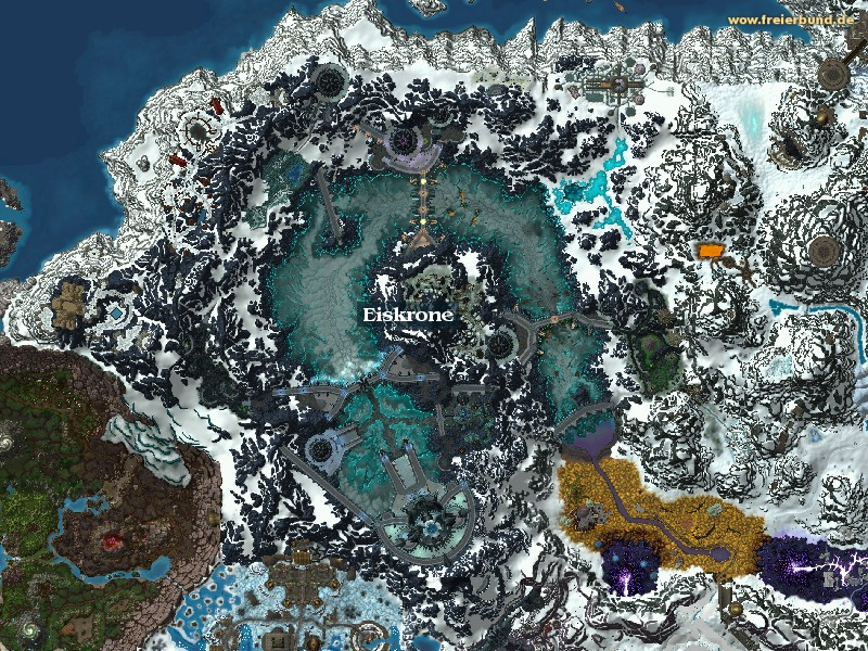 Eiskrone (Icecrown) Zone WoW World of Warcraft