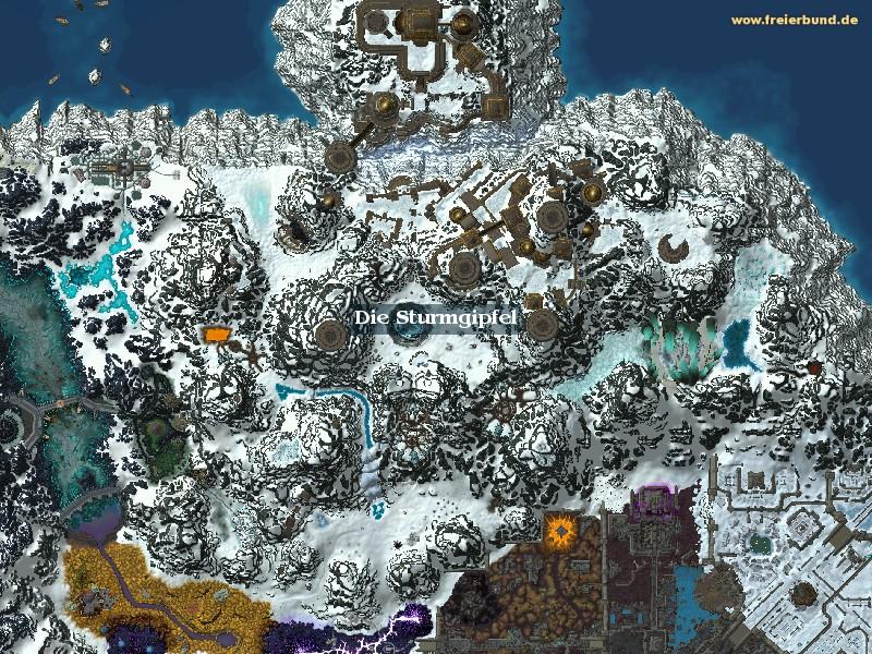die sturmgipfel zone map guide freier bund world of warcraft. Black Bedroom Furniture Sets. Home Design Ideas