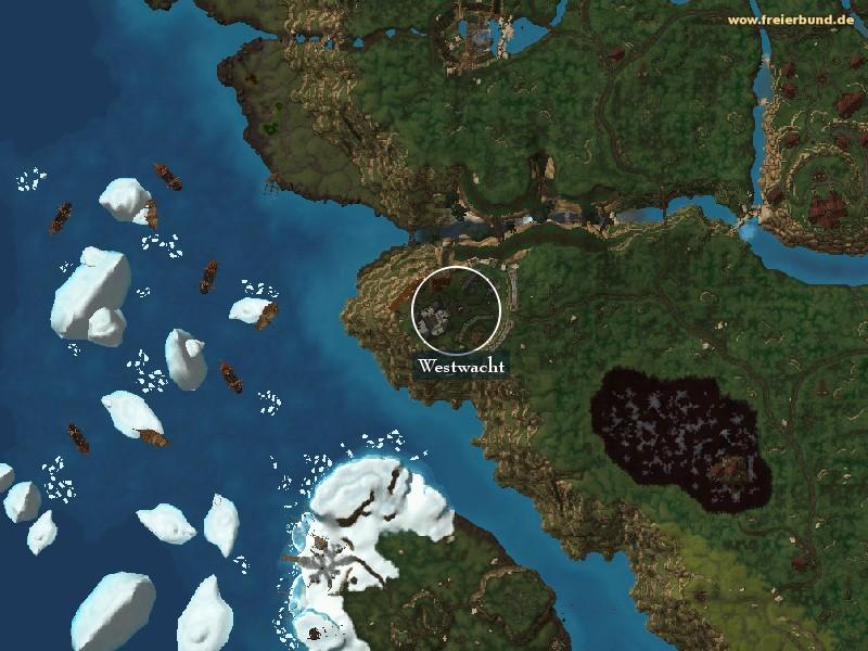 westwacht drustvar karte Westwacht   Landmark   Map & Guide   Freier Bund   World of Warcraft