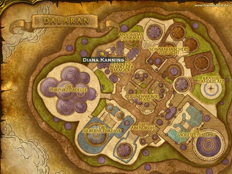 Diana Kanning (Diane Cannings) Trainer WoW World of Warcraft