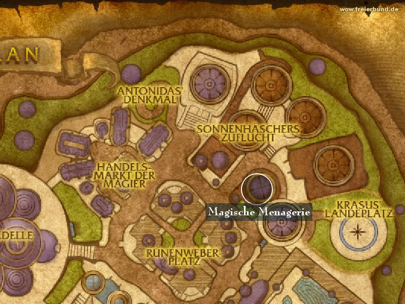 Magische Menagerie (Magical Menagerie) Landmark WoW World of Warcraft
