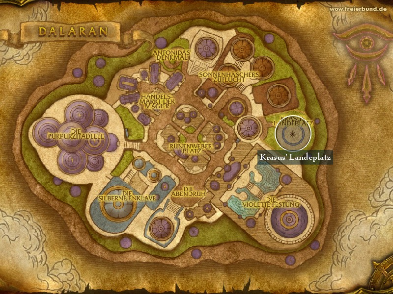 Krasus' Landeplatz (Krasus' Landing) Landmark WoW World of Warcraft