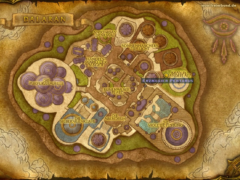 Erzmagier Pentarus (Archmage Pentarus) Quest NSC WoW World of Warcraft