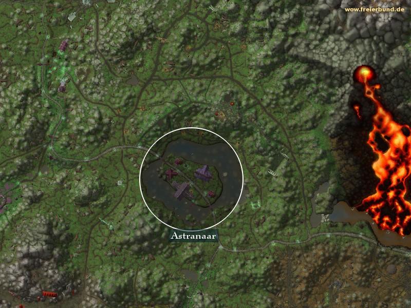 Astranaar  Astranaar  Landmark WoW World of WarcraftAstranaar