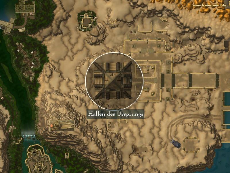 Wow Endlose Hallen : hallen des ursprungs landmark map guide freier ~ Watch28wear.com Haus und Dekorationen