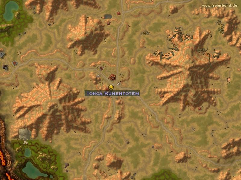 Tonga Runentotem Quest Nsc Map Guide Freier Bund World Of