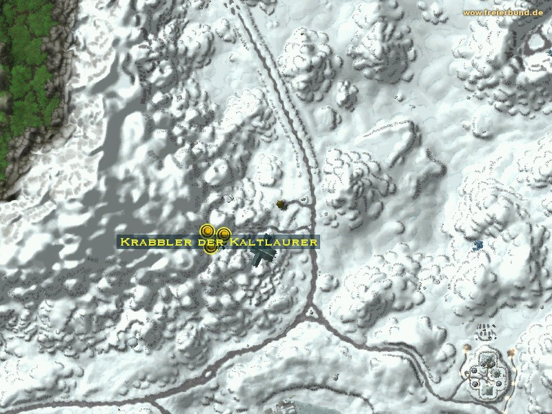 Krabbler der kaltlaurer monster map amp guide freier bund world