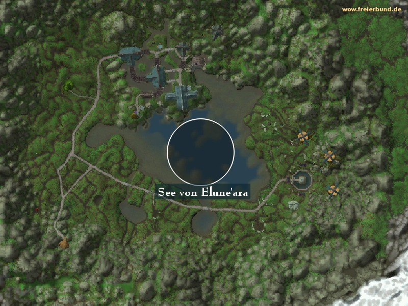 See von Elune'ara (Lake Elune'ara) Landmark WoW World of Warcraft