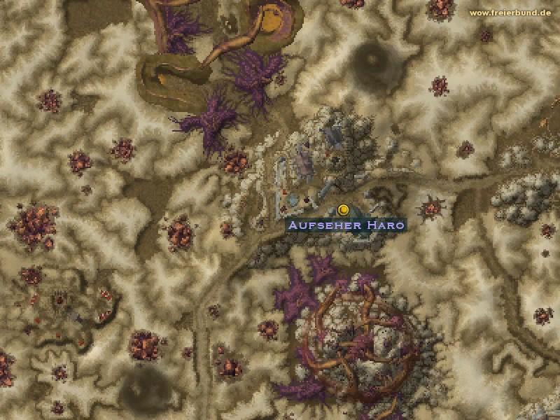 aufseher haro quest nsc map guide freier bund world of warcraft. Black Bedroom Furniture Sets. Home Design Ideas