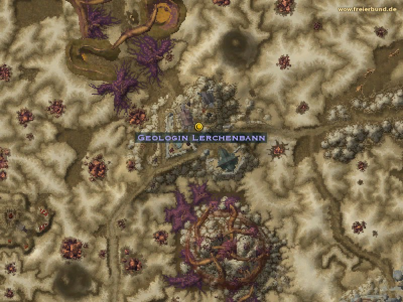 Geologin Lerchenbann (Geologist Larksbane) Quest NSC WoW World of Warcraft