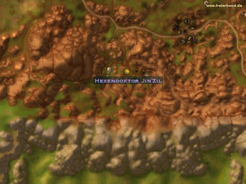 Hexendoktor Jin'Zil - Quest NSC - Map & Guide - Freier Bund - World on