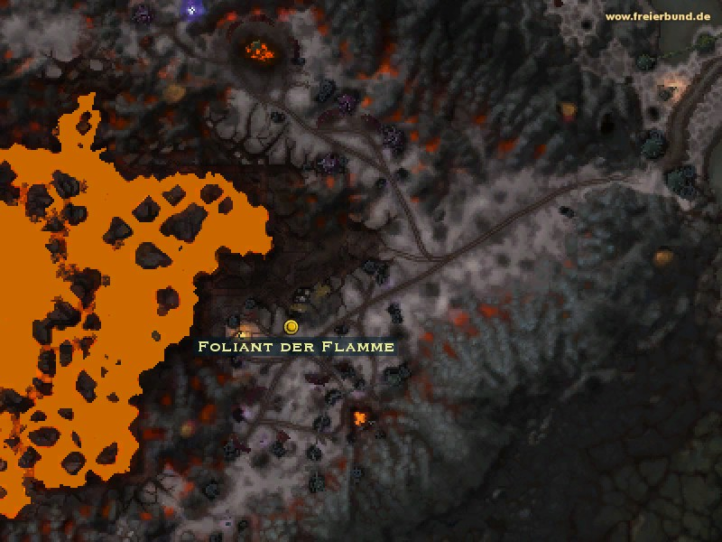 Foliant der Flamme (Tome of Flame) Quest-Gegenstand WoW World of Warcraft