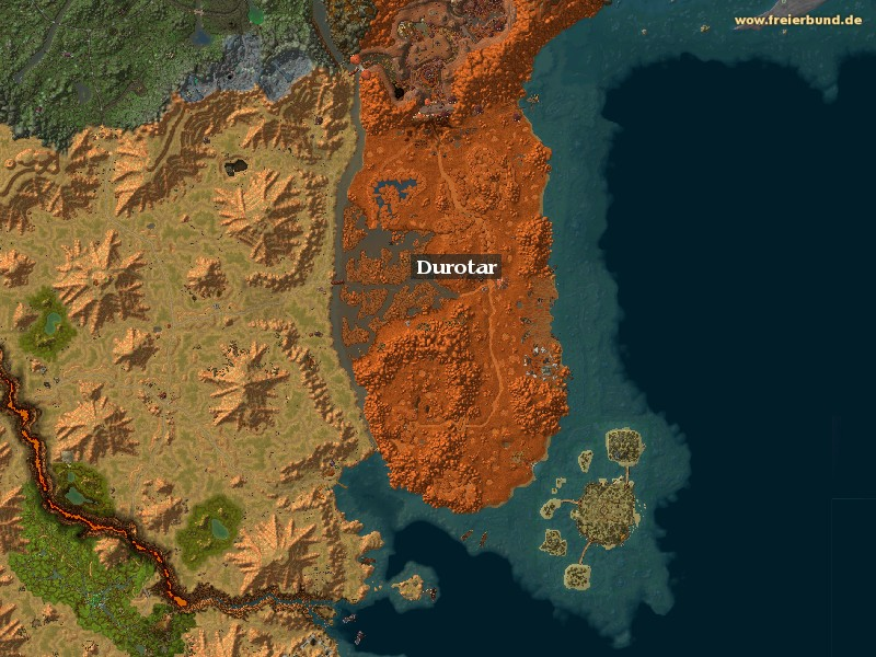 Durotar (Durotar) Zone WoW World of Warcraft