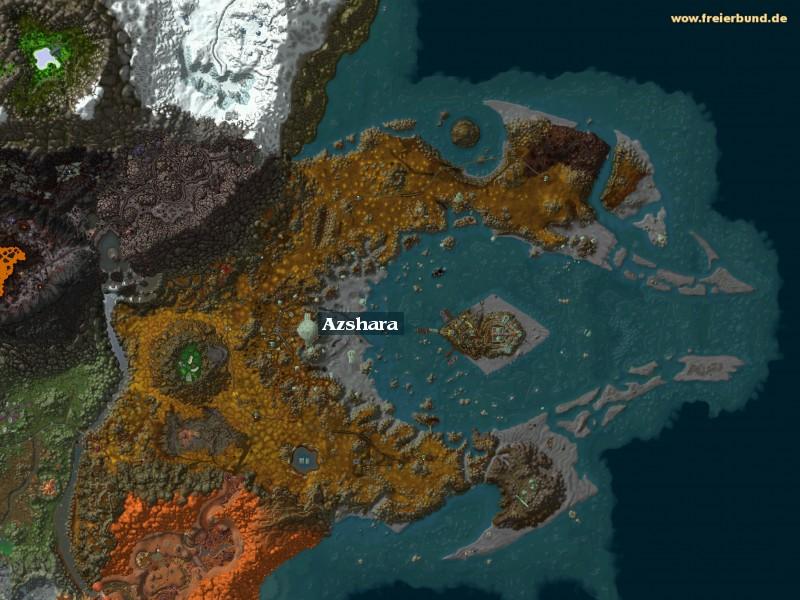 azshara zone map guide freier bund world of warcraft. Black Bedroom Furniture Sets. Home Design Ideas