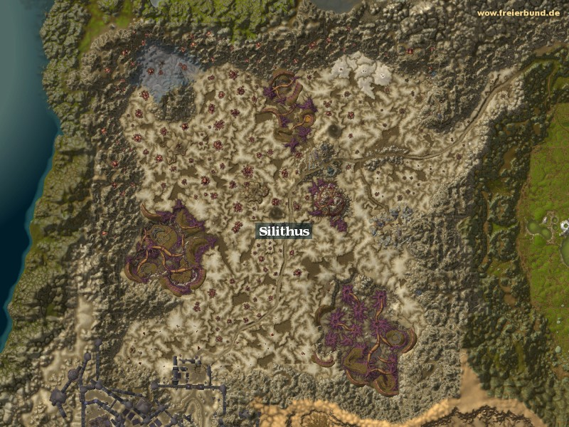 Silithus (Silithus) Zone WoW World of Warcraft