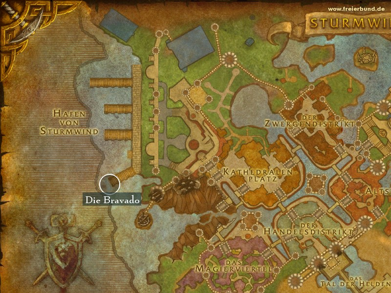 Die Bravado (The Bravery) Landmark WoW World of Warcraft