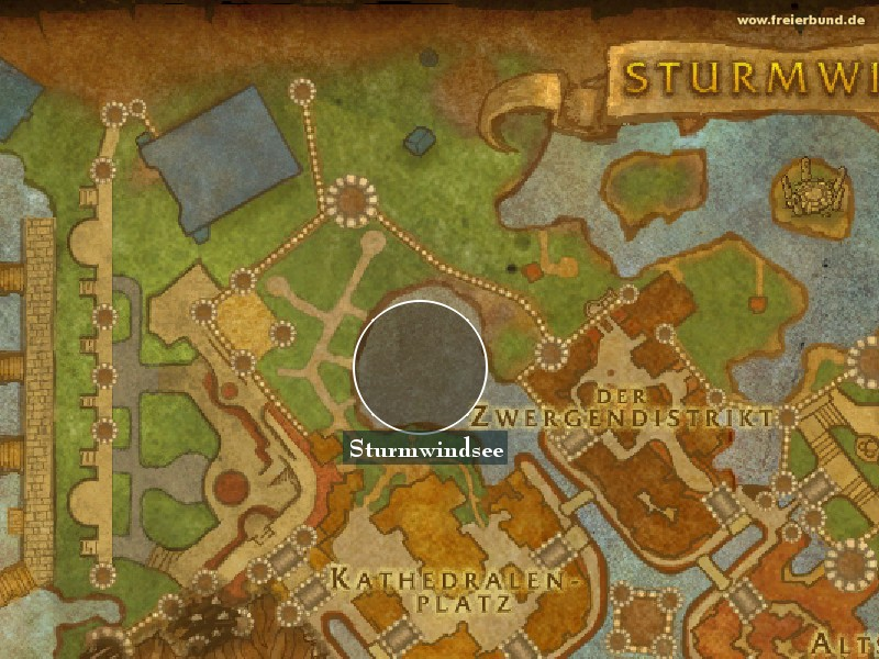 Sturmwindsee (Stormwind Lake) Landmark WoW World of Warcraft