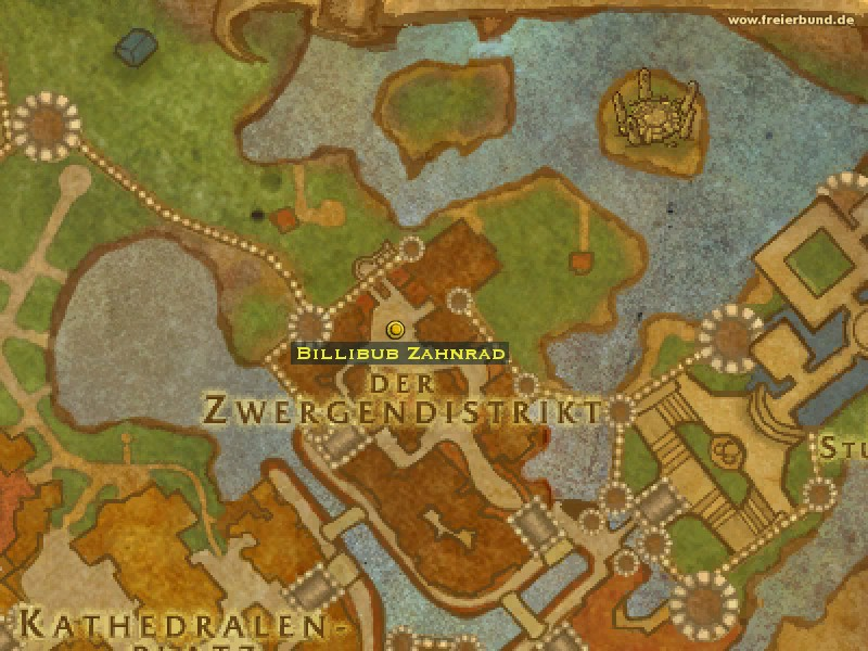 Billibub Zahnrad (Billibub Cogspinner) Händler/Handwerker WoW World of Warcraft