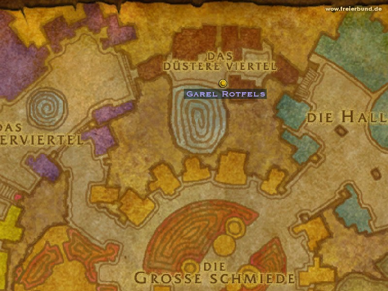 Garel Rotfels (Garel Redrock) Quest NSC WoW World of Warcraft