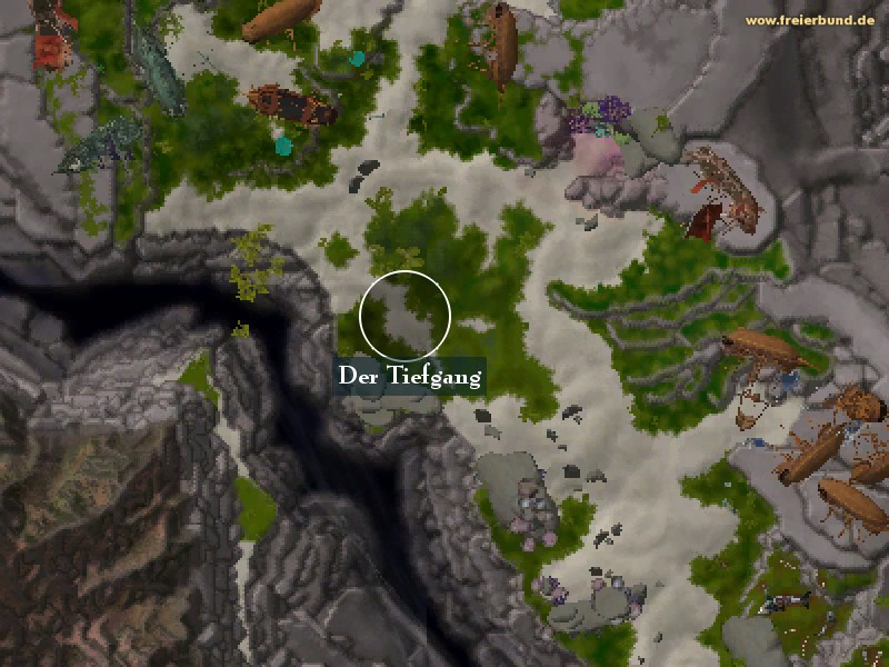 Der Tiefgang (Shallow's End) Landmark WoW World of Warcraft