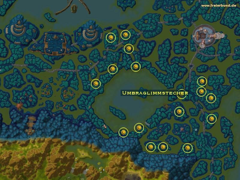 Umbraglimmstecher - Monster - Map & Guide - Freier Bund - World of ...