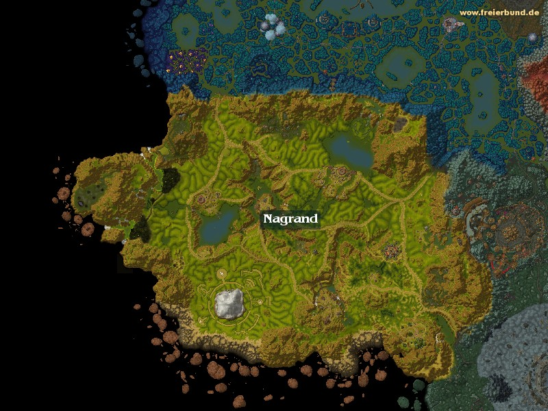 Nagrand (Nagrand) Zone WoW World of Warcraft